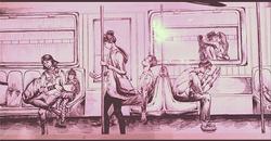 subway glimpses
