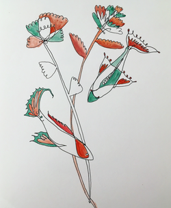 flowers and fish p1