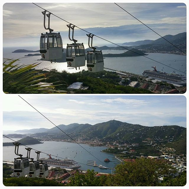 Cable car to Paradise Point