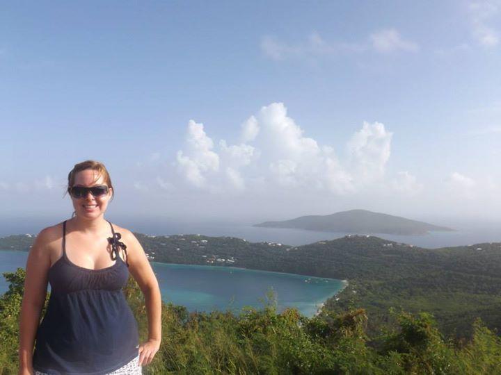 Me at Magens Bay