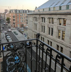 View from balcony of Hotel D