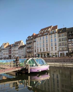 Boat tour of Strasbourg