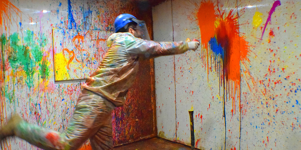 COMMUNITY CLASS - Rage Painting February 13th