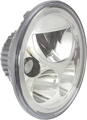 "7"" VX Series Chrome LED Headlight"