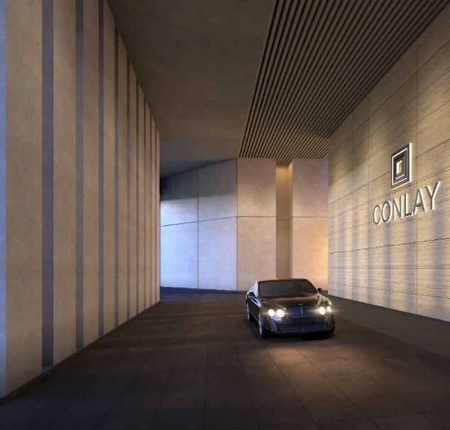 The Conlay Entrance