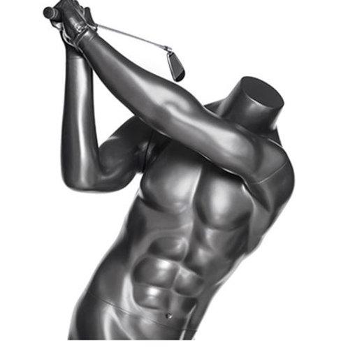 Mannequin homme joueur de golf