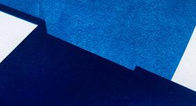 setback II, cyanotype, 28 x 13 cm