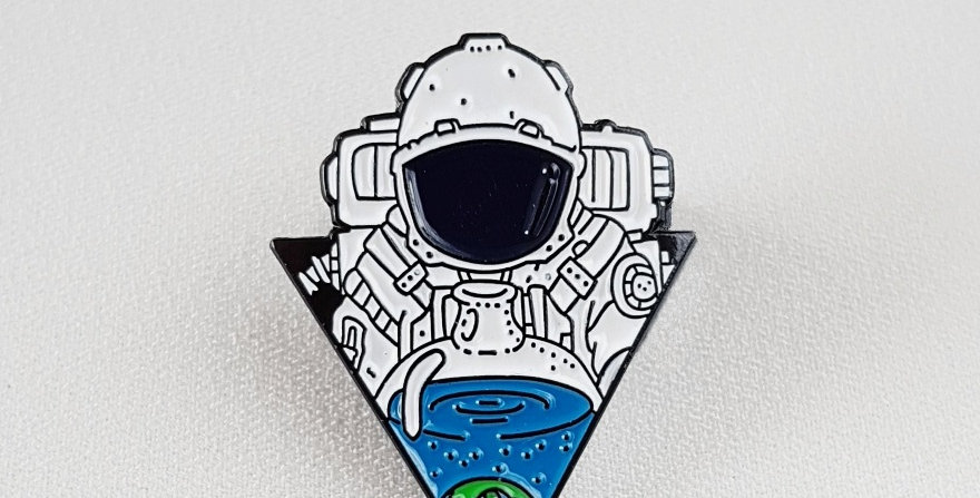 "Pin ""Triastronaut"""