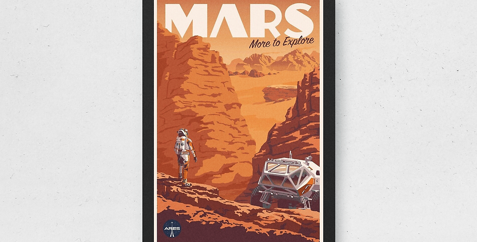 "Plakat ""Mars"""