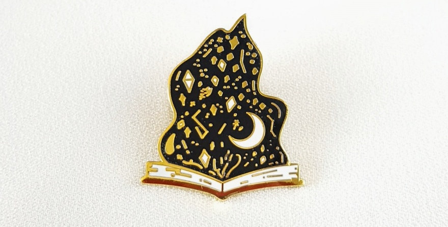 "Pin ""Start the cosmic fire"""