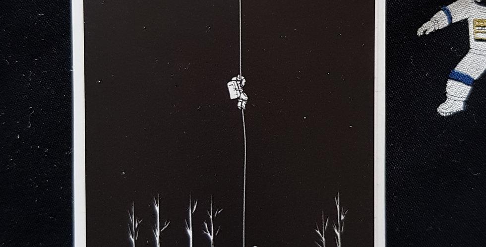 """Naklejka """"Hanging"""""""