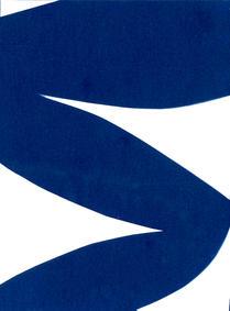 the urge to play IV cyanotype 15 x 21 cm