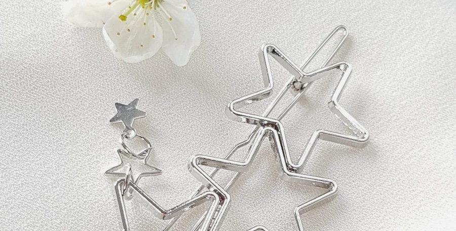 """Ozdoba do włosów """"Silver stars"""""""