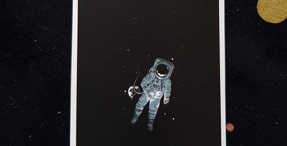 """Naklejka """"Into space"""""""