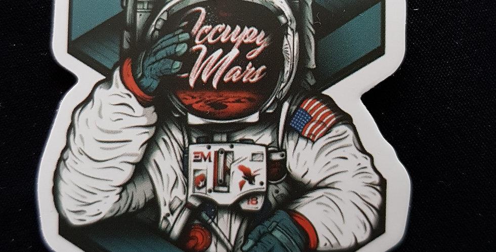 "Naklejka ""Mars"""