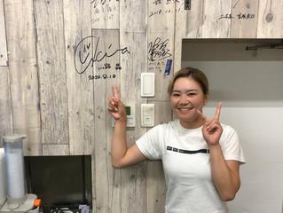 女子プロゴルファー 山路晶 選手