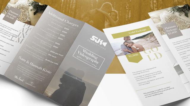 SJK Productions Brochure