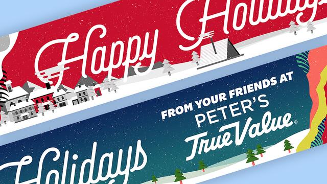 True Value Holiday Banner