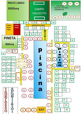 Pianta Piscina