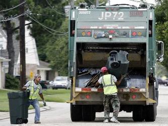 Two Trash Collectors