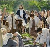 """From """"Hosanna!"""" to """"Crucify Him!"""" or Making Jesus our Choice"""