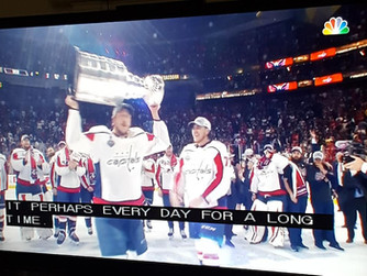 Winning the Cup . . . Finally !