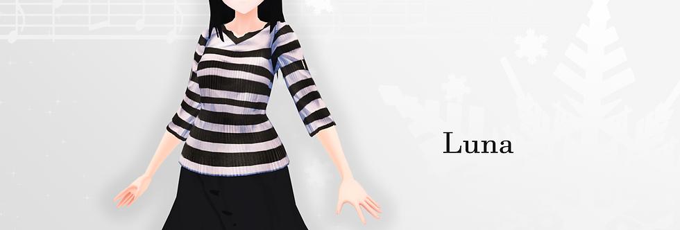 Luna 3d model thumbnail