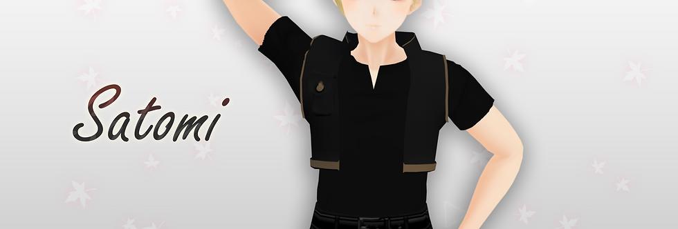 Satomi 3d model thumbnail