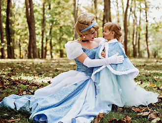 Cinderella,  princess parties, kentucky princess parties