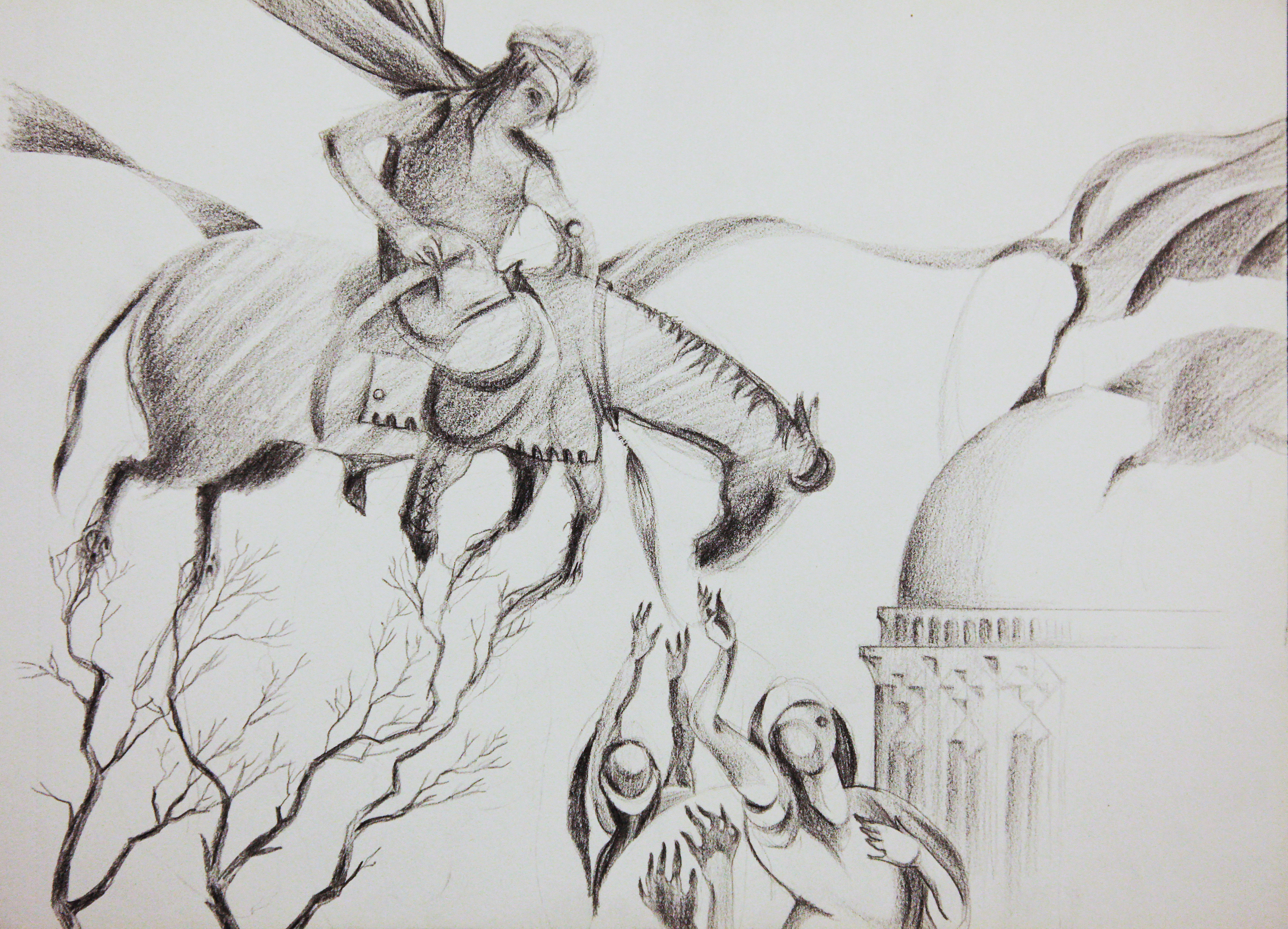 pencil on paper, 2015