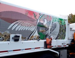 Waste Collection Vehicle Artwork panel