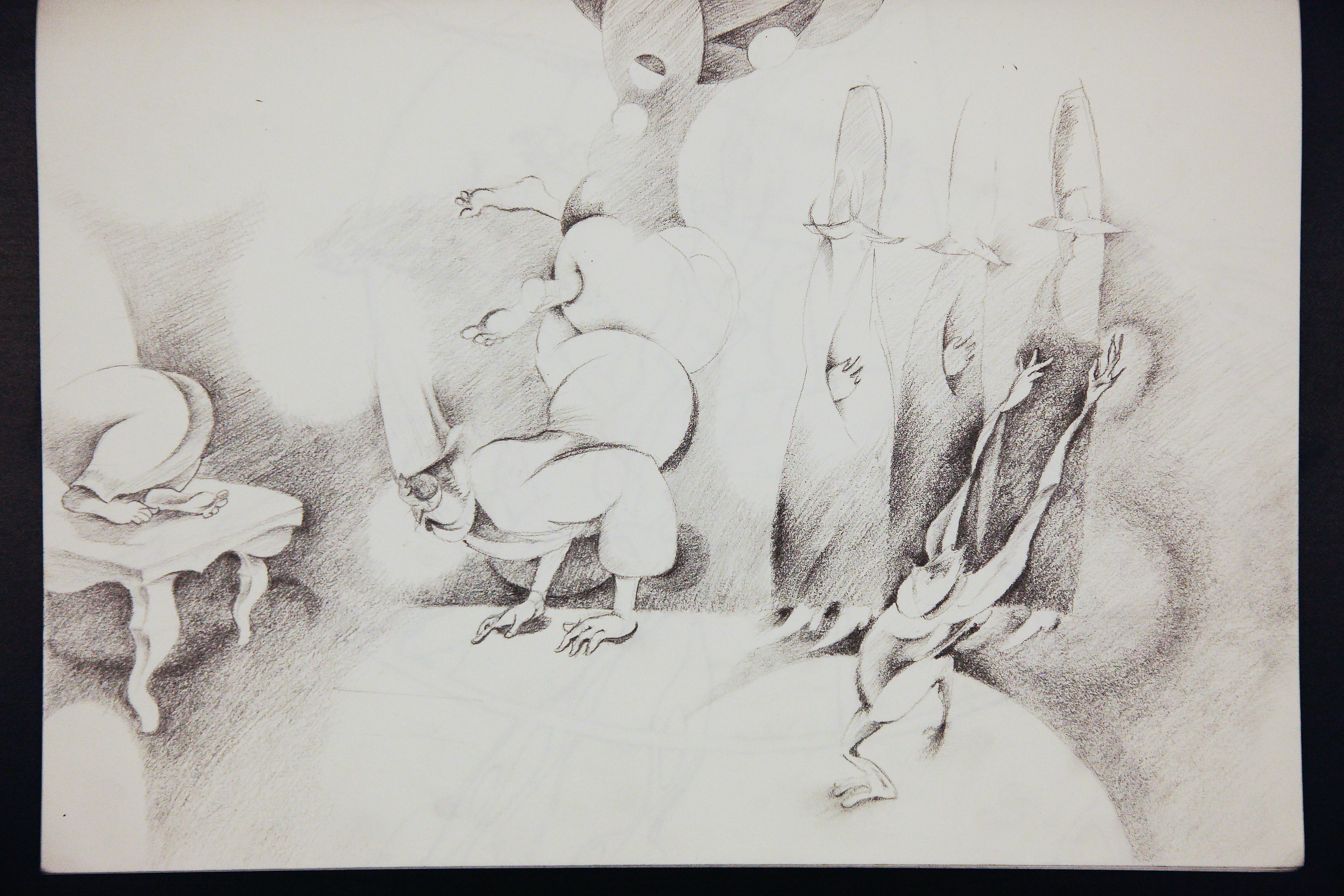 pencil on paper 2005