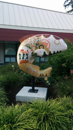 Salmon Art Project