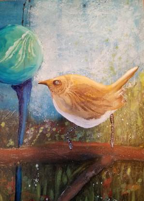 Gazing Bird 1