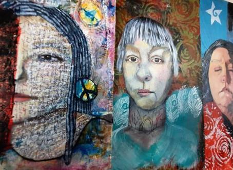 Selfie Paintings