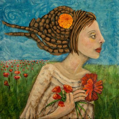 SOLD - Poppy Girl # 2