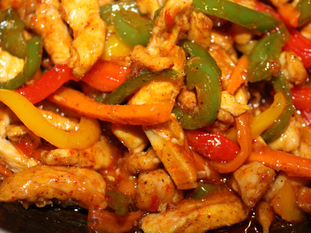 Sweet Chilli Chicken Stir Fry