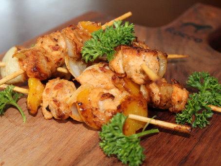 Lemon and Herb Chicken Skewers