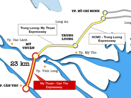 Say Goodbye to the Travel Hassle: Expressway Enlarged Makes HCM to Can Tho Only 2-hour Drive By 2023