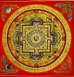 Mandala z Nepalu