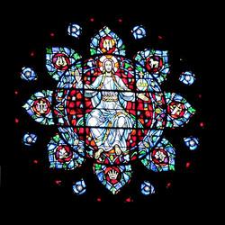 Mandala z Jezusem