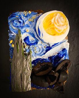 Kanapka z Van Goghiem