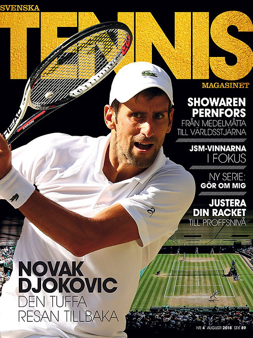 Tennismagasinet nr 4 2018, digitalt (PDF)