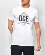 "TEE-SHIRT HOMME BLANC ""DCE"""
