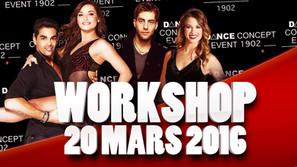 WORKSHOP x 20 MARS 2016