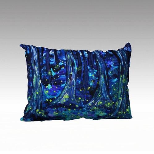 """Fireflies 20x14"""" Pillow"""