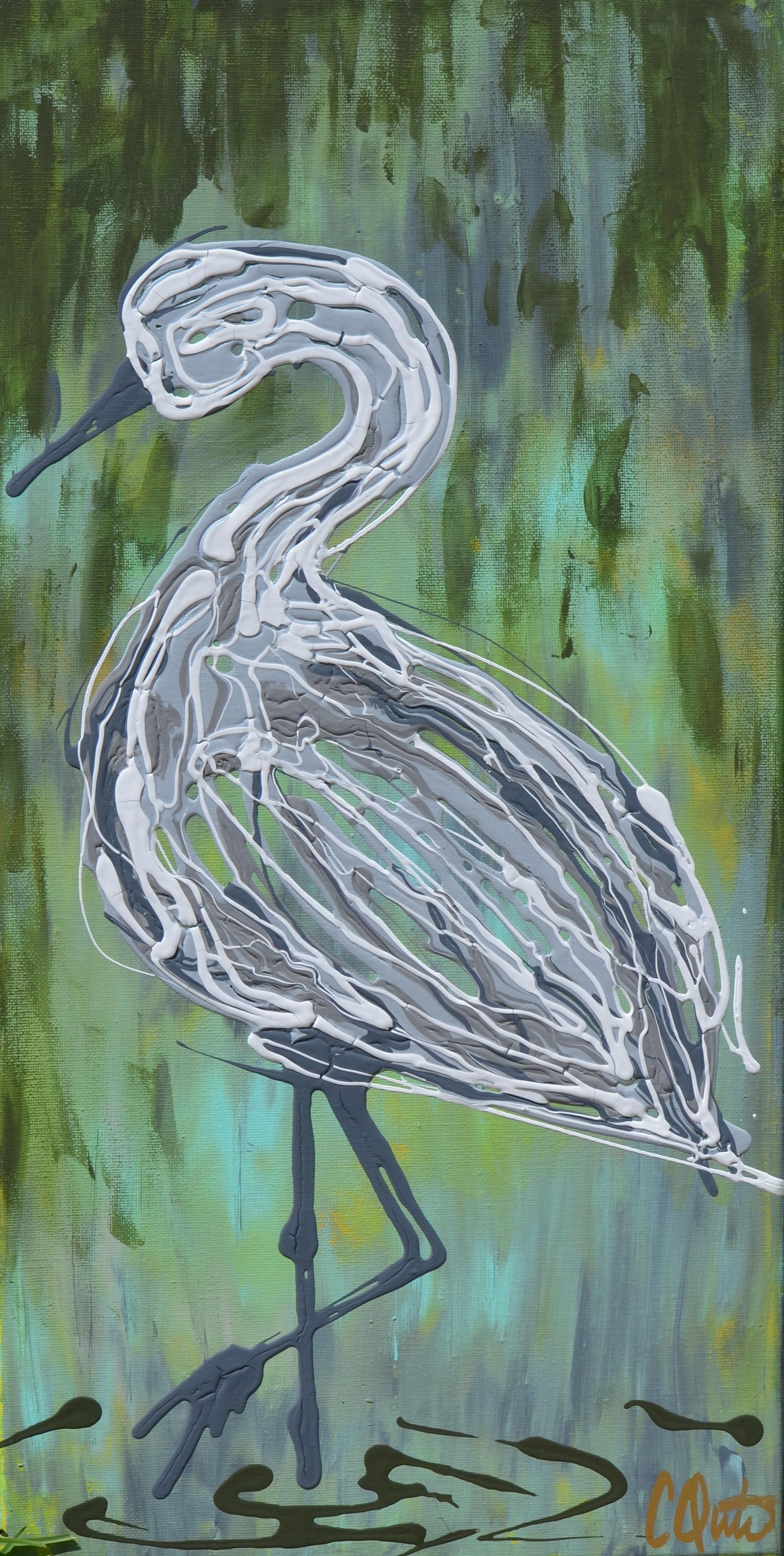 Swamp Egret