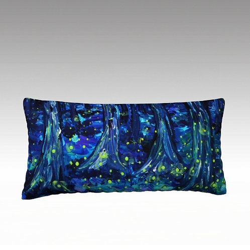 "Fireflies 24x12"" Pillow"