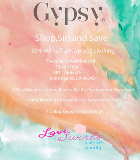 ~ Shop, sip and save !