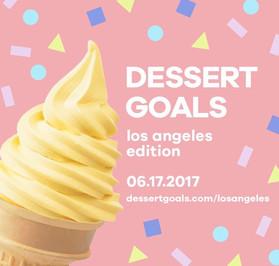 ~ Dessert Goals Festival